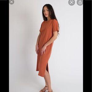 Jesse Kamm Tropicana t shirt dress